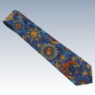 Astrology Novelty Eagle Menswear  Cotton Tie