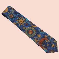 Astrology Novelty Eagle Menswear  Cotton Tie