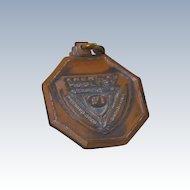 Josten American Poultry Medal Fob