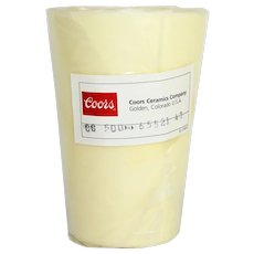 Coors Ceramics Company, 65521 High-Alumina High Form Crucible, 500mL Capacity, laboratory Glass