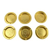 1960s Collection of Six Grain Belt Beer Ashtrays, Breweriana