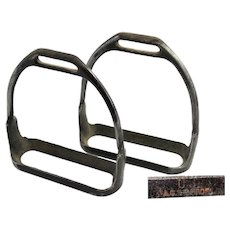 1912 U.S. Army Cavalry Stirrups WWI