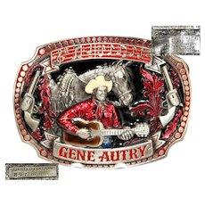 1993 SMKW belt buckle, Gene Autry #897 of 10000