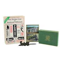 Vintage Railroad Collectibles, Railroadiana