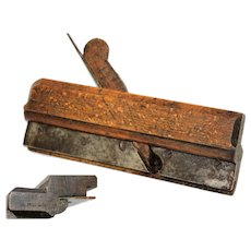 Antique A. Hallman No.1 Woodworking Hand Plane