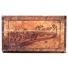1920s Antique Pfeiffers Beer Wooden Shipping Crate