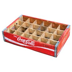 1960s Coca Cola Wooden Shipping Crate