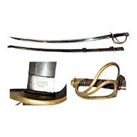 Antique Sword, 1845 Nathan P. Ames Sword, Pre-Civil War Sword