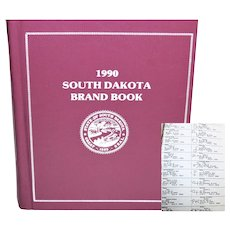 1990 South Dakota Brand Book