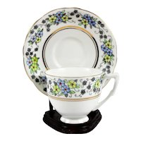 English Bone China Teacup and Saucer made by Gladstone England