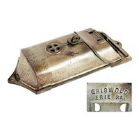 Griswold Cast Iron, Wall Hanging Mailbox, Vintage Mailbox