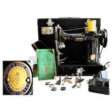 Centennial Edition, Singer 221  Featherweight Sewing Machine