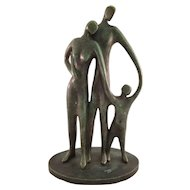 Contemporary Bronze Family Figure - Limited (5/30) - Signed