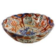Vintage Handpainted Porcelain Bowl - Floral Design