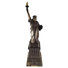 "Bronze Statue ""Restoration of a Dream"" /Statue of Liberty by Michael Shane - Limited (14/250)"