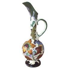 Gouda Pottery ewer 1950s