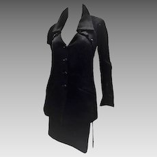 Chloé Black Iconic Vintage   Skirt Suit By Karl Lagerfeld