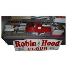 Robin Hood  Tin Flour Sign 1940-50s