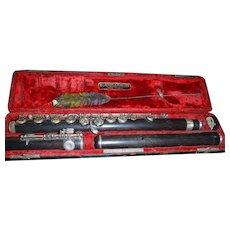 Vintage Wood Flute 1