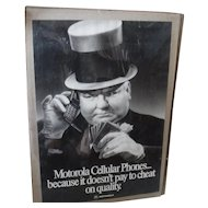 First Cell phone ad 1982 Motorola