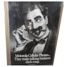 Early Motorola Cellphone Ad