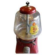 Vintage Gumball/Peanut machine 1