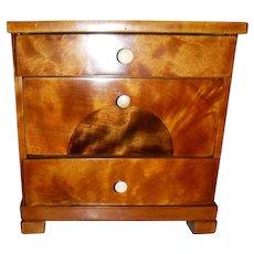 Miniature 3 drawer Chest