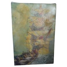 Clymer Illustrative Oil Painting Nautical