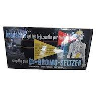 Bromo Seltzer Street car/Bus sign