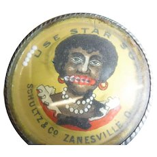 Black Americana Advertising Dexterity Star Soap