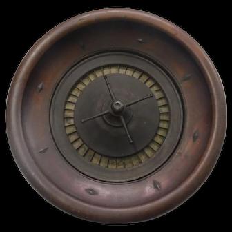 Riverboat Roulette wheel 19th cen.