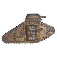 WWI Tank bank  cica 1918