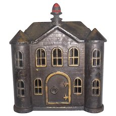 "Victorian Mansion Rare NM cond  6x4"""