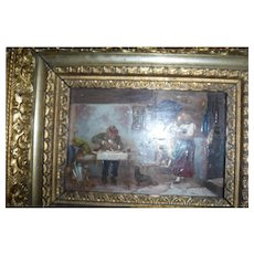Victorian Painting on Board