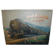 Overland Cigar sign/painting