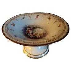 KPM Porzellan Hand Painted Pedestal Dish