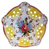 Limited Edition Hand Made Italy Wall Plate Plaque