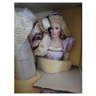 Franklin Heirloom Rapunzel Doll New In Box
