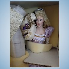 Franklin Heirloom Rapunzel Doll New In Box
