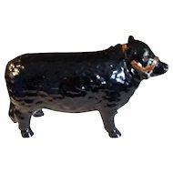 Whales Aberdeen Porcelain Cow Figurine