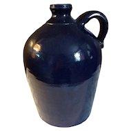 2006 Blue Dwayne Crocker Southern Pottery Jug