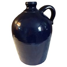 2006 Blue Dwayne Crocker Southern Pottery Jug