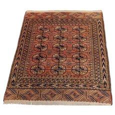 Vintage Persian Balouch rug  , Circa 1960's.