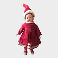 Adorable Bahr&Proschildt 585 closed mouth Character toddler doll 40 cm