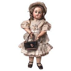 Lovely Antique Velours Bag for doll