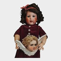 Just Pretty French Bebe Character 251 Baby SFBJ size 4 Toddler body