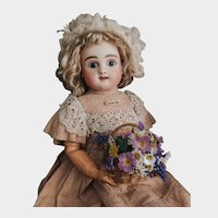 Gorgeous Rare French Bebe Steiner Figure B two rows of teeth