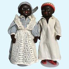 Couple of Vintage Black Doll