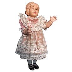 Early French Celluloid Doll