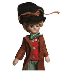 Adorable french mignonnette all bisque doll